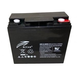 RITAR High Rate AGM Batteri 12V 22AH (181x77x167mm) M5