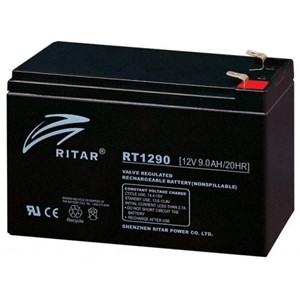 RITAR AGM Batteri 12V 9AH (151x65x94mm) F2