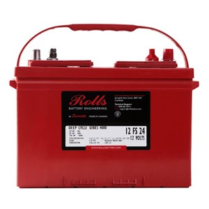 ROLLS 12-FS-24 Deep Cycle Batteri 12V 85AH (279x171x238mm)
