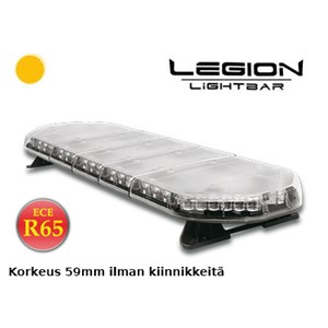 LED LYSBJELKE VARSELLYS 12V 48LED 1087MMM