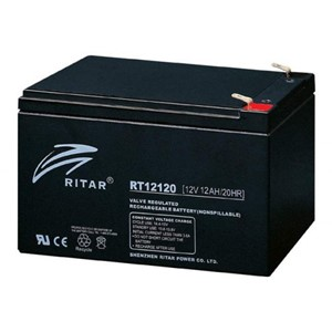 RITAR AGM Batteri 12V 12AH (151x98x95mm) F2