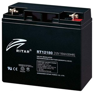RITAR AGM Batteri 12V 18AH (181x77x167mm) M5