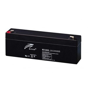 RITAR AGM Batteri 12V 2,3AH (178x35x61mm) F1