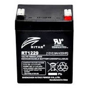 RITAR AGM Batteri 12V 2,9AH (79x56x106mm) F1