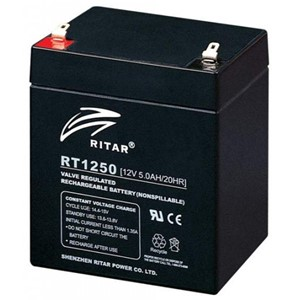 RITAR AGM Batteri 12V 5AH (90x70x101mm) F1