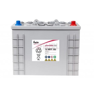 ENERSYS 12MFP105 Powerblock GEL 12V 105AH (349x174x283mm)