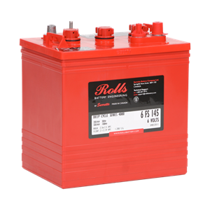ROLLS 6-FS-145 Deep Cycle Batteri 6V 250AH