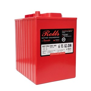ROLLS 6-FS-GC-DIN Deep Cycle Batteri 6V 250AH